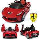 LAFERRARI FERRARI OFFICIALLY LICENSED 12V KIDS RIDE ON 2.4G REMOTE CONTROL CAR