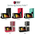 Samsung Galaxy Note 7 REDshield Flip Cover Magnetic Flap