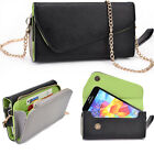 Womens Synthetic Leather Wrislet Wallet for Smartphones and Cards ESMLUB3|ECE