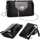 Kroo Universal Vogue Smartphone Wallet Case w/ Hand Strap and Chain EI64VG-2