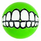 Rogz Grinz Dog Ball Toy & Treat Dispenser - Give your Dog a Smile!