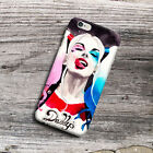 Harley Quinn Watercolor Art For iPhone 6 6s 6 Plus 6s Plus SE Hard Case Cover