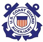 US Coast Guard Auxiliary Sticker / Military Decal M327