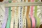 CROCHET LACE - 5 Styles - 20-22mm Wide 1.8 Metre (2Yard) Lengths MultiList 3C