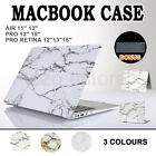 """Marble Matte Pattern Hard Case Cover For Macbook Air Pro 11"""" 12"""" 13"""" 15"""" Retina"""