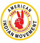American Indian Movement Sticker / Decal R662