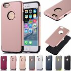 Hybrid Ultra-Thin Shockproof Heavy Duty Armor Case Cover Fr iPhone 5 6 6s 7 Plus