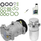 NEW AC COMPRESSOR AND DRIER KIT1996-1998 CHEVY /GMC PICKUP