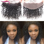Brazilian Water Wave Virgin Human Hair 13×4 Lace Frontal Closures With Baby Hair
