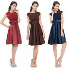 Dress Evening Party Long Formal Prom Bridesmaid Ball Gown New Chiffon Wedding Uk