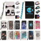 New Leather Smart Patter Wallet & Hand Rope Case Covers for Samsung Galaxy S6