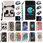 New Leather Smart Patter Wallet & Hand Rope Case Covers for Samsung Galaxy G530