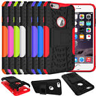 Hybrid Hard&Soft Shockproof Rugged Cover Back Case Heavy Duty Stand Armor Impact