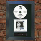 KATE BUSH The Whole Story Signed Autograph CD & Cover Mounted Re-Print A4 no56