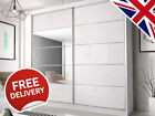 Sliding Wardrobe Doors DIY High Gloss Mirror Colour Panels (950mm x 2000mm)