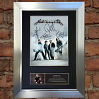METALLICA Signed Autograph Mounted Photo Reproduction A4 Print no470
