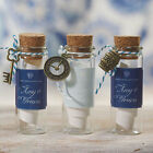 36 Glass Message in a Bottle Bottles with Cork Beach Wedding Favors Lot Q16731