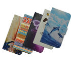 For MOTO pu-leathe cartoon Floral Cell phone case cover card holder wallet