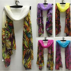 Fashion Floral Pattern Women Scarves Long Ladies Scarf Wrap Size 150cm X 50cm