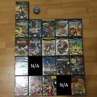 Nintendo Gamecube Games Lot Naruto Spongebob Squarepants 007 Sonic Star Wars Etc $12.99 USD