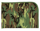 Baby Blanket Infant Toddler Camouflage Cotton Receiving Blanket Rothco 2450