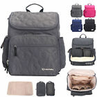 Water Resistant Baby Diaper Bag Backpack Nappy Bag Changing Pad Bottle Bag