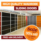 Sliding Wardrobe Doors DIY High Gloss Solid Colour Panels (950mm x 2000mm)