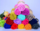 Fashion Lady Women Long Soft Cotton Scarf Wrap Shawl sSarves Stole Candy Colors