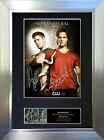SUPERNATURAL Signed Autograph Mounted Reproduction Photo A4 Print no136