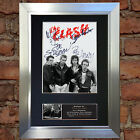 THE CLASH Signed Autograph Mounted Photo Reproduction A4 Print no608