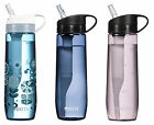 Brita 23.7 Ounce Hard Sided Water Filter Bottles with 1 Filter BPA Free 3 Colors