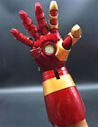Right Left Hand Avengers Iron Man MK42 Sound&LED Light&Laser Fore Arm Cos Props