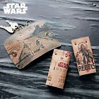 DISNEY Star Wars R2-D2 C-3PO Cowhide Key Case Ring Holder Made in Japan E2866