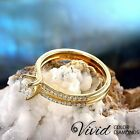 Real Diamond Engagement Ring 14k Solid Gold 1.15 CT VS-SI/I-J Size 5.5 Enhanced