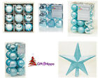 Christmas Decorations - The Luxury Ice Blue Selection Christmas Decorations