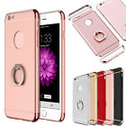 For NEW iPhone 7 Plus Hybrid Rubber Hard Case with Ring Buckle Grip Holder Cover