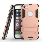 Armor Shockproof Rugged Hybrid Rubber Hard Stand Case For iPhone SE 6 6S 7 Plus