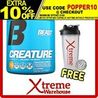 BEAST CREATURE 60 SERVES CHERRY LIM// CREATINE SUPPLEMENT POWDER MUSCLE RECOVERY