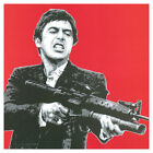 AUCTION - Scarface Shooting Red - Pop Art Print - 30 x 30cm