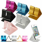Universal Aluminum Cell Phone Desk Stand Holder For Tablet Mini Samsung Phone PC