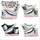 The new Anime Shingeki no variety of giant shoes canvas casual shoes