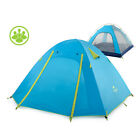 Naturehike 2-3-4 Person Outdoor Double Layer Windproof Camping Tent NH15Z003-P