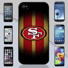 San Francisco 49ers Red and Gold Apple iPhone & Samsung Galaxy Case Cover Cover