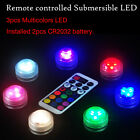 Waterproof LED Submersible Light Wedding Party Vase Lamp Remote Control