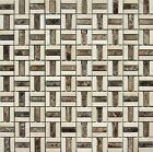"1/4""x1"" Weaving Marble Mosaic Tile Polished. ($14.50 per Sheet)"