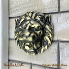 Large Solid Brass Lion Head Push Button Door Bell Lot of Finishes