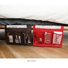 4 Pockets Tidy Bedside Desk Mattress Organizer Hanging Storage Bag Dorm Room
