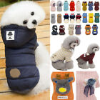 2019 New Puppy Pet Dog Clothes Hoodie Winter Warm Sweater Coat Costumes Apparel