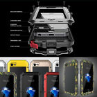 Aluminum Shockproof Waterproof Gorilla Glass Cover Case For iPhone XS/X/7 8Plus