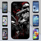 Michael Jordan Black Red and White Abstract Art iPhone & Galaxy Case Cover